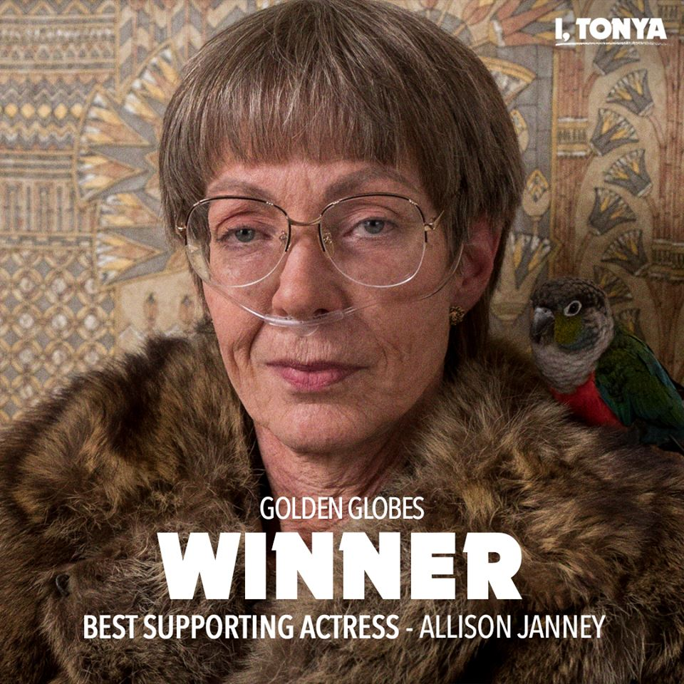 Allison Janney wins Golden Globe