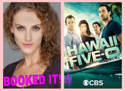 BOOKED! Olga Kalashnikova / Hawaii Five-0